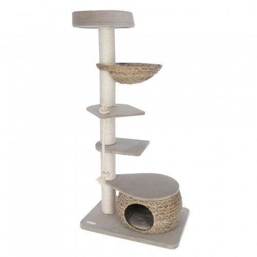 Arbre à chat et griffoir - Arbre à chat Banana Leaf Tower pour chats