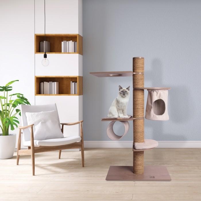 Arbre à chat et griffoir - Arbre à chat Leonardo pour chats