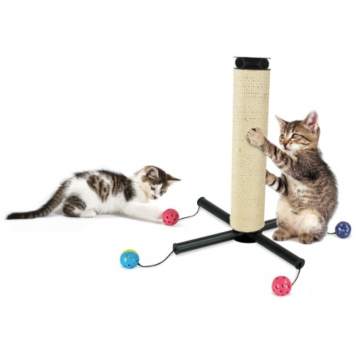 Arbre à chat et griffoir - Griffoir Play Zone pour chats