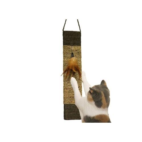 Arbre à chat et griffoir - Griffoir à suspendre bi-matière pour chats