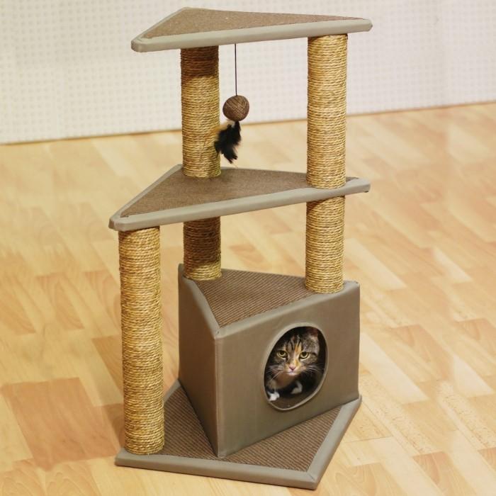 Arbre à chat et griffoir - Arbre à chat Seattle pour chats