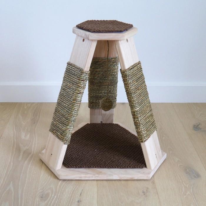 Arbre à chat et griffoir - Poteau à griffer Catwalk Caraway pour chats