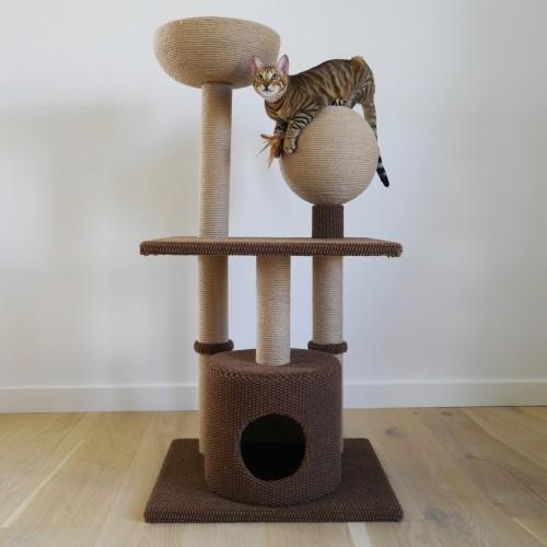 Arbre à chat et griffoir - Arbre à chat Catwalk Coll Bay pour chats