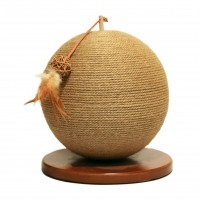 Griffoir pour chat - Griffoir Parsley Natural Jute Rosewood
