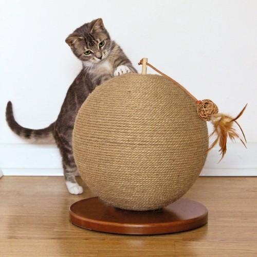 Arbre à chat et griffoir - Giffoir Parsley Natural Jute pour chats