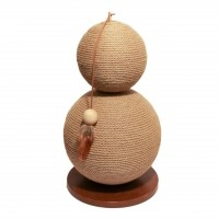 Griffoir pour chat - Giffoir Coriander Natural Jute Rosewood