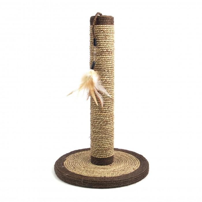 Arbre à chat et griffoir - Poteau à griffer Natural Seagrass pour chats