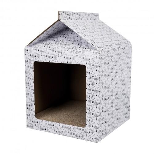 Arbre à chat et griffoir - Maison Griffoir pour chats