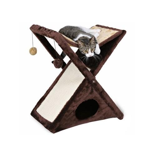 arbre chat hamac miguel arbre chat trixie wanimo. Black Bedroom Furniture Sets. Home Design Ideas