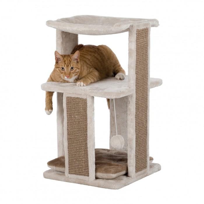 arbre a chat mural fait maison kletterwand fr katzen. Black Bedroom Furniture Sets. Home Design Ideas