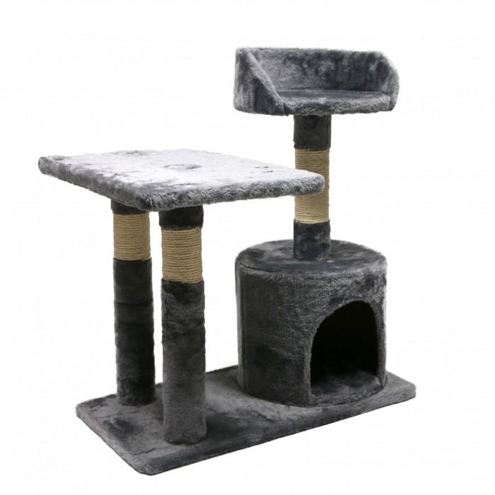 Arbre à chat et griffoir - Arbre à chat Boréale 3en1 pour chats