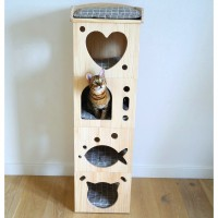 Couchage pour chat - Maison Sleeper Caves Rosewood