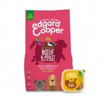 Croquettes et pâtées pour chien - Edgard & Cooper Pack découverte BIO