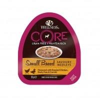 Pâtée en barquette  - Wellness CORE Small Breed Savoury Medleys
