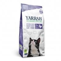 Croquettes pour chat - Yarrah Croquettes biologiques pour chat stérilisé