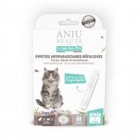 Pipettes répulsives pour chat - Pipettes antiparasitaires répulsives chat Anju Beauté Paris