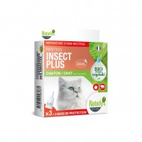 Antiparasitaire pour chat - Pipettes Insect Plus Bio Naturly's