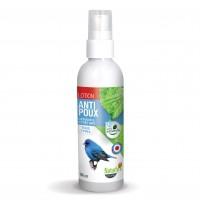 Antiparasitaire pour oiseau et cage - Lotion anti-poux Naturly's