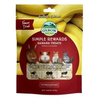 Friandise pour rongeur  - Simple Rewards Banana Treats Oxbow