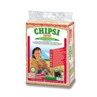 Litière pour rongeur et furet - Litière en granulés de bois Chipsi Super