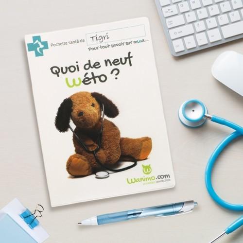 Accessoires chien - Protège carnet de santé pour chiens
