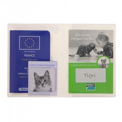 Accessoires chat - Protège carnet de santé pour chats