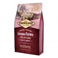Croquettes pour chaton - CARNILOVE Chaton Healthy Growth Saumon & dinde Chaton Healthy Growth Saumon & dinde