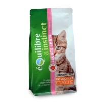 Croquettes pour chat - EQUILIBRE & INSTINCT Kitten Kitten