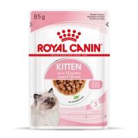 Sachet fraîcheur pour chaton - Royal Canin Kitten Kitten - Lot 12 x 85g