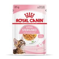 Sachet fraicheur pour chaton - ROYAL CANIN Kitten Sterilised - Lot 12 x 85g