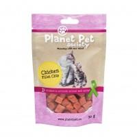 Friandises pour chat - Bouchées à la viande et au poisson Planet Pet