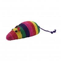 Jouet à griffer pour chat - Souris multicolore à griffer Aimé