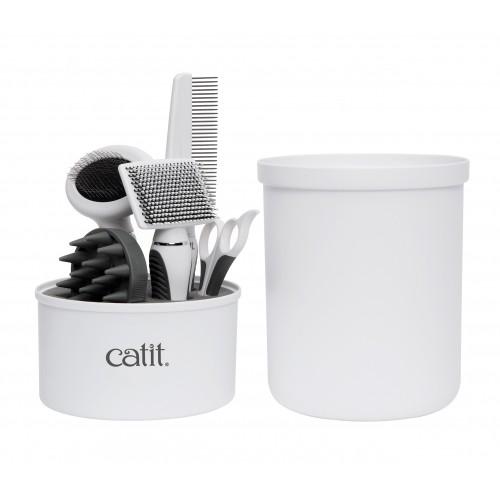Shampooing et toilettage - Kit de toilettage Deluxe - Poils courts pour chats