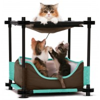 Aire de jeu pour chat - Aire de jeu Cosy Bed Kitty City