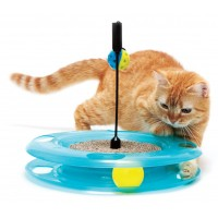 Aire de jeu pour chat - Aire de jeu Triple Fun Sport Pet Design