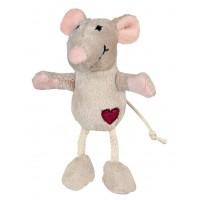 Souris et peluche pour chat - Peluche Mouse Love Trixie