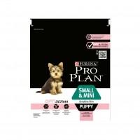 Croquettes pour chien - PURINA PROPLAN Small & Mini Puppy Sensitive Skin OptiDerma Saumon