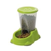 Accessoire repas pour chien et chat - Distributeurs de croquettes et d'eau Smart 1.5L