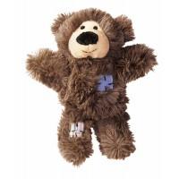Peluche pour chiot et petit chien - Peluche Ourson Wild Knot Bear KONG