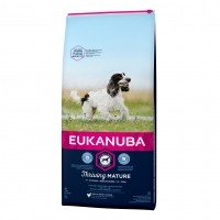 Croquettes pour chien - Eukanuba Thriving Mature Medium Breed - Poulet