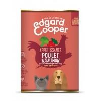 Pâtée en boîte pour chien - Edgard & Cooper, pâtée en boîtes pour chien sénior Pâtée sans céréales Senior - 6 x 400g