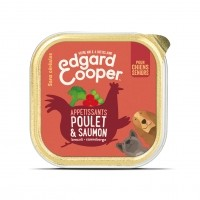 Pâtée en barquette pour chien - Edgard & Cooper, pâtée en barquettes pour chien sénior Pâtée sans céréales Senior - 11 x 150g