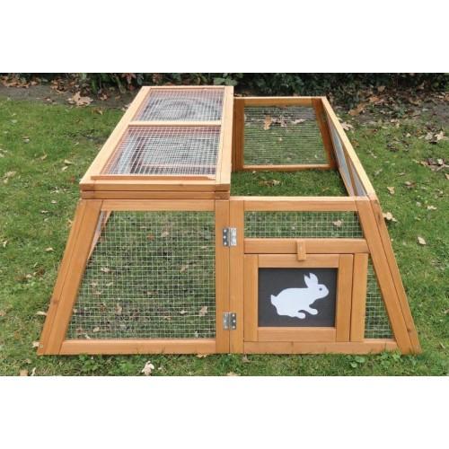 Cage, clapier et enclos rongeur - Enclos Trapèze pour rongeurs