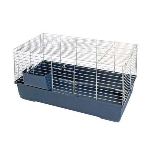 Cage, clapier et enclos rongeur - Cage Ideo Blue pour rongeurs