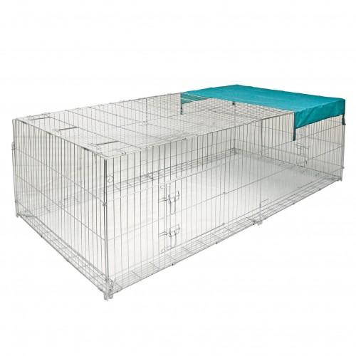Enclos anti fugue enclos pour rongeur kerbl wanimo for Cage exterieur pour lapin