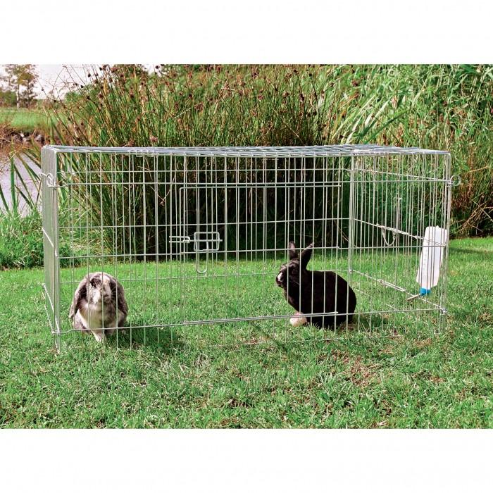 Cage, clapier et enclos rongeur - Enclos Cube avec toit pour rongeurs