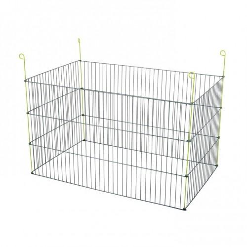 Cage, clapier et enclos rongeur - Enclos extérieur rectangle pour rongeurs