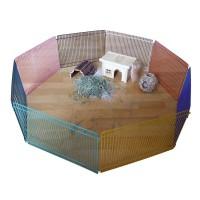 Enclos pour rongeur - Enclos 8 panneaux Kerbl