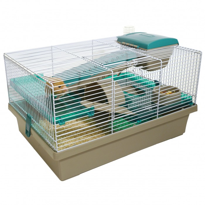 cage pico cage pour hamster wanimo. Black Bedroom Furniture Sets. Home Design Ideas