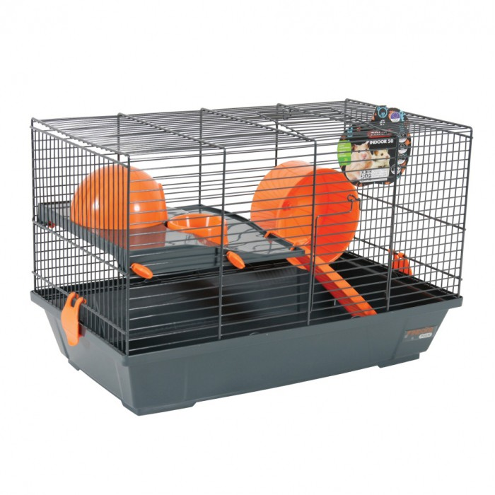 cage indoor 50 hamster cage pour hamster zolux wanimo. Black Bedroom Furniture Sets. Home Design Ideas